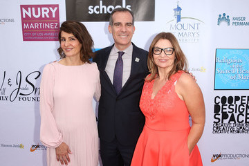 Eric Garcetti Coalition To Abolish Slavery And Trafficking's 20th Annual 'From Slavery To Freedom Gal' - Arrivals