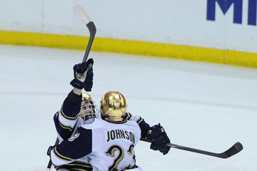 Eric Johnson 2014 NCAA Division I Men's Ice Hockey Championship - West Regional