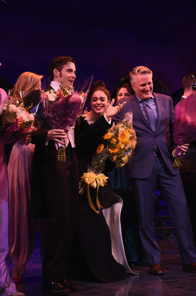'Gigi' Broadway Opening Night - Arrivals And Curtain Call