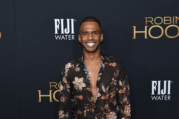 Eric West FIJI Water At The New York Special Screening Of 'Robin Hood'