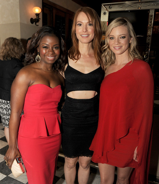Amy Smart Alicia Witt Erica Tazel Erica Tazel Photos Justified Season 5 Premiere Afterparty Zimbio My blackness, tender and strong, wounded and wise. amy smart alicia witt erica tazel