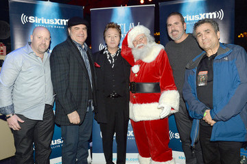 Erik Luftglass The Brian Setzer Orchestra Perform Private 'Christmas Rocks' Concert For SiriusXM Listeners At The Hard Rock Cafe In New York City; Concert To Air On SiriusXM's Outlaw Country Channel