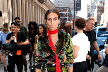 Erika Boldrin Desigual - September 2016 - New York Fashion Week: The Shows - Street Style