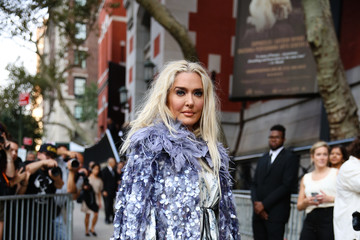 Erika Jayne Street Style - New York Fashion Week September 2019 - Day 7