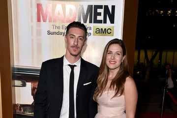 Erin Chiamulon AMC Celebrates 'Mad Men' With The Black & Red Ball - Red Carpet