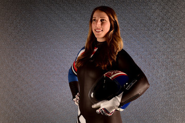 Erin Hamlin Team USA PyeongChang 2018 Winter Olympics Portraits