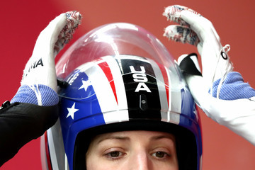 Erin Hamlin Luge - Winter Olympics Day 3