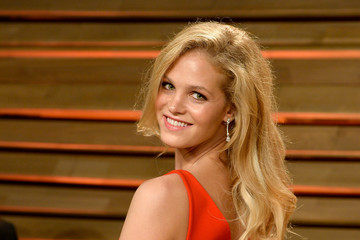 Erin Heatherton Stars at the Vanity Fair Oscar Party