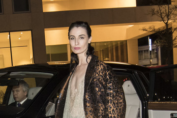 Erin O'Connor Rolls-Royce Arrivals at Design Museum Opening, London