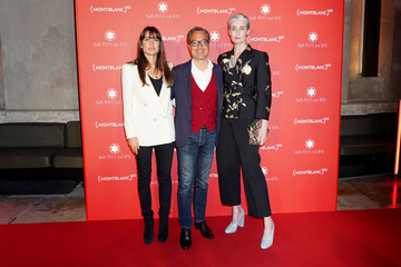Erin O'Connor Montblanc: (Red) Launch Dinner And Party