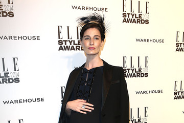 Erin O'Connor Elle Style Awards 2014 - Outside Arrivals