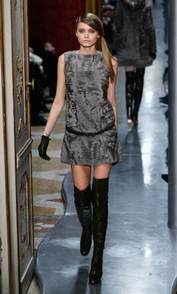 Abbey+Lee+Kershaw in Ermanno Scervino: Milan Fashion Week Womenswear A/W 2010
