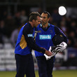 Nic Pothas and Dominic Cork Photos