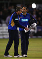 Nic Pothas and Dominic Cork Photos Photo