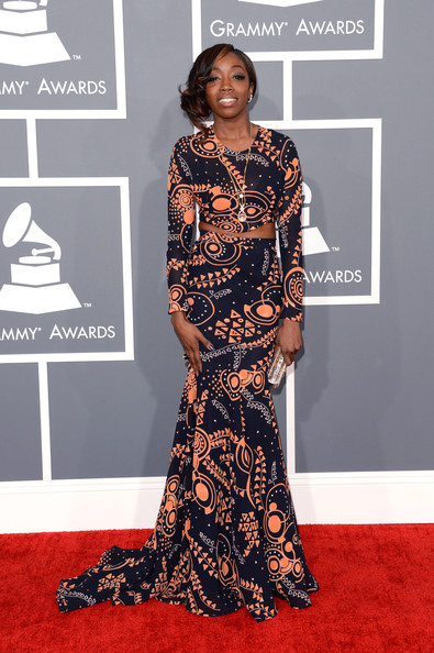 Estelle - The 55th Annual GRAMMY Awards - Arrivals