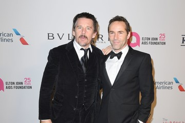 Ethan Hawke Elton John AIDS Foundation Commemorates Its 25th Year and Honors Founder Sir Elton John During New York Fall Gala - Inside