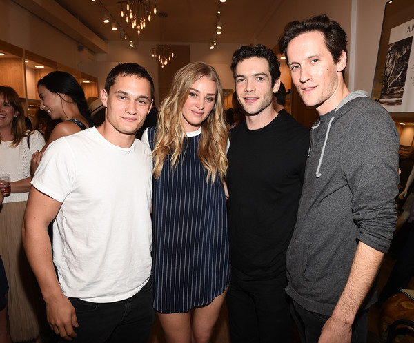 Amour Vert x Switch Boutique [event,fashion,fun,party,smile,leisure,style,crowd,fashion design,switch boutique,swith boutique,beverly hills,california,celebration,rafi gavron,amour vert,guest,ethan peck,elizabeth gilpin]