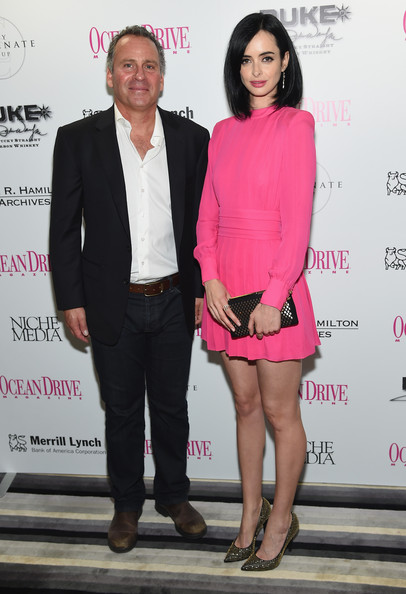 Ocean Drive Magazine December Cover Launch With Krysten Ritter