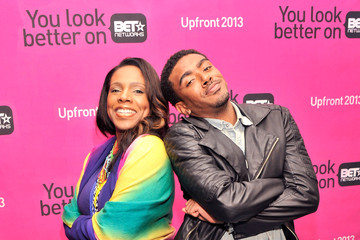 Etienne Maurice Celebs at BET Networks New York Upfront
