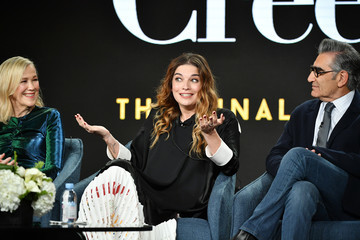 Eugene Levy Annie Murphy 2020 Winter TCA Tour - Day 7