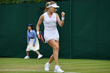 Eugenie Bouchard Day Two: The Championships - Wimbledon 2019