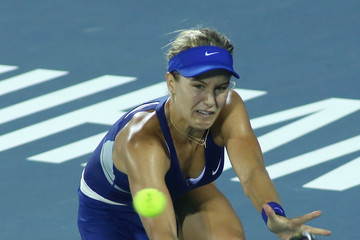 Eugenie Bouchard Dongfeng Motor Wuhan Open: Day 6