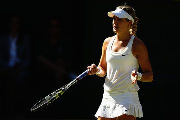 Eugenie Bouchard Wimbledon: Day 10