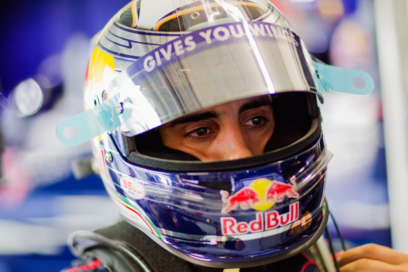 Sebastien Buemi of Switzerland and Scuderia Toro Rosso prepares to drive during practice for the European Formula One Grand Prix at the Valencia Street Circuit on July 25, 2010, in Valencia, Spain.