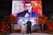 "Josh Gad speaks to Edith Bowman at the European Premiere of Disney's ""Frozen 2"" on November 17, 2019 in London, England."