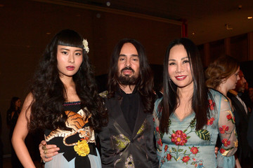 Eva Chow Alessandro Michele LACMA 2015 Art+Film Gala Honoring James Turrell and Alejandro G Inarritu, Presented by Gucci - Inside