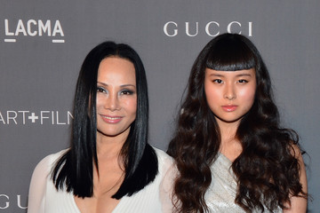 Eva Chow Asia Chow LACMA 2012 Art + Film Gala Honoring Ed Ruscha And Stanley Kubrick Presented By Gucci - Red Carpet