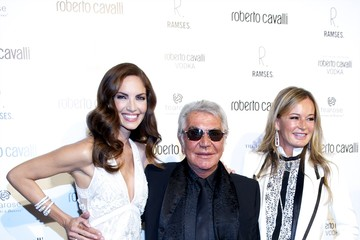 Eva Duringer Roberto Cavalli Boutique Opening in Madrid