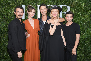 Eva Herzigova Christian Dior Celebrates 70 Years of Creation - Exhibition At Musee des Arts Decoratifs - Photocall