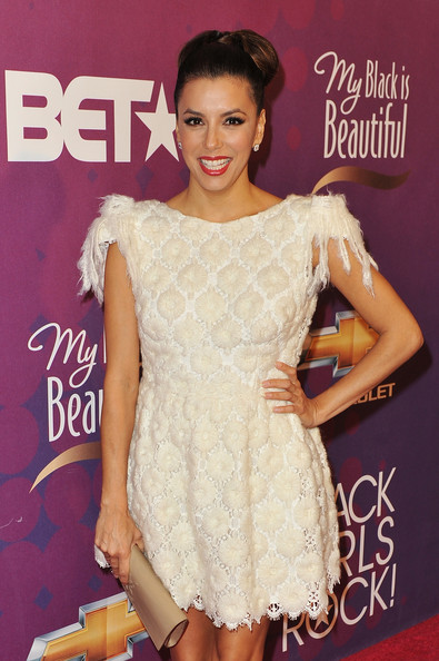 Eva Longoria - BET's Black Girls Rock 2012 - CHEVY Red Carpet