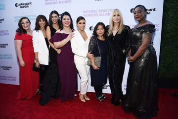 Eva Longoria National Domestic Workers Alliance Celebrates 'Roma'