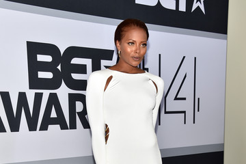 Eva Marcille BET AWARDS '14 - Winners Room
