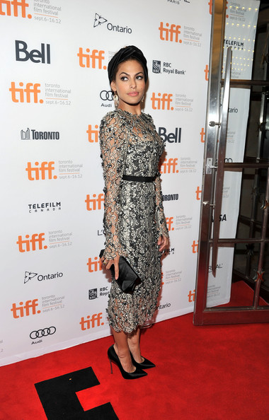 "Eva Mendes - ""The Place Beyond The Pines"" Premiere - Arrivals - 2012 Toronto International Film Festival"