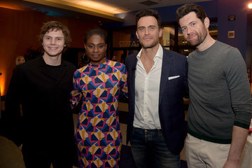 Evan Peters FYC Event For FX's 'American Horror Story: Cult' - Inside