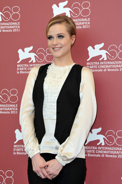 Evan Rachel Wood - 'Mildred Pierce' Photocall at the Venice Film Festival