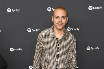 """Evan Ross Spotify Hosts """"Best New Artist"""" Party At The Lot Studios - Red Carpet"""