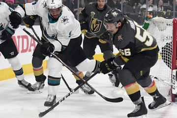 Evander Kane San Jose Sharks vs. Vegas Golden Knights - Game Five