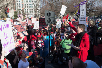 Eve Ensler #WOMENWORKERSRISING: A Rally With Women Workers on International Women's Day