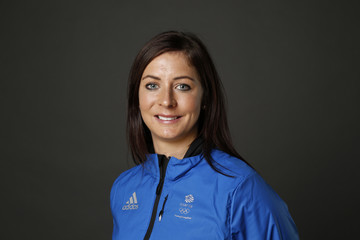 Eve Muirhead Team GB Kitting Out Ahead of Pyeongchang 2018 Winter Olympic Games
