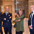 Evelina Christillin Italy And Holland Delegations Dinner And Visit To Egyptian Museum