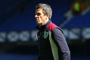 Joey Barton of Burnley takes a look around the pitch prior to the Premier League match between Everton and Burnley at Goodison Park on April 15, 2017 in Liverpool, England.
