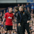Phil Neville David Moyes Photos
