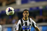 Hatem Ben Arfa of Newcastle in action during the Barclays Premier League match between Everton and Newcastle United at Goodison Park on September 30, 2013 in Liverpool, England.