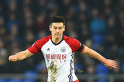 Gareth Barry of West Bromwich Albion during the Premier League match between Everton and West Bromwich Albion at Goodison Park on January 20, 2018 in Liverpool, England.