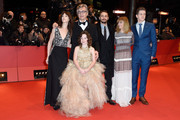 Actress Charlotte Gainsbourg, director Wim Wenders and actors Marie Josee Croze, Robert Naylor and Lilah Fitzgerald (front) attend the 'Every Thing Will Be Fine' premiere during the 65th Berlinale International Film Festival at Berlinale Palace on February 10, 2015 in Berlin, Germany.