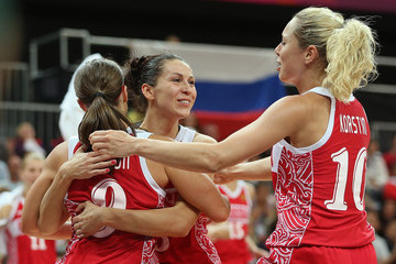 Evgeniya Belyakova Olympics Day 11 - Basketball